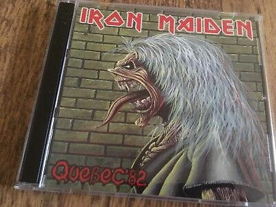 Iron Maiden Double CD Quebec Canada The Number Of The Beast Tour 1982