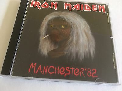 Iron Maiden CD Manchester England The Number Of The Beast Tour 1982