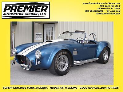 1965 Shelby MARK III SHELBY COBRA SUPERFORMANCE MARK III