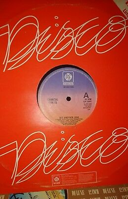 12 inch single Chantal Curtis - Get Another Love
