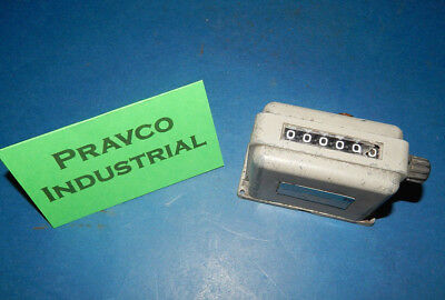 Veeder-Root 703006-003 6 Digit Counter Cracked Digit Cover 40-150PSI 703006003