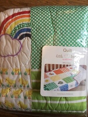 Mothercare Little Bird By Jools Oliver Quilt Suitable For A Cot Or Cot Bed