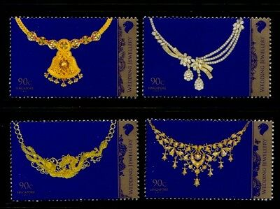 SINGAPORE Wedding Jewelry MNH set