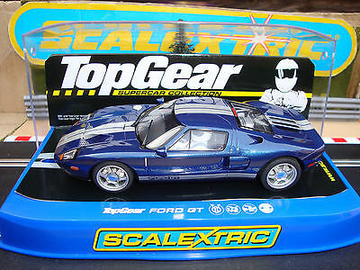 C2984 Brand New Boxed Ford Gt Top Gear Car With Working Lights.