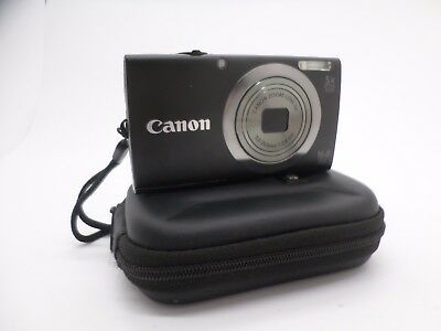 Canon Pink PowerShot A2300 HD 16.0 MP Digital Camera with 5x Optical Zoom