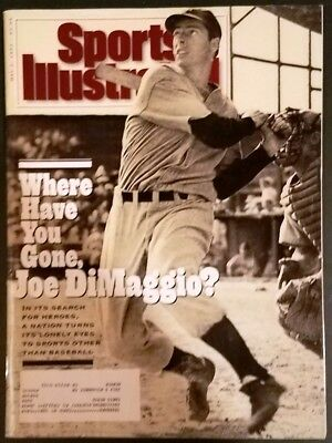 May 1993 Sports Illustrated Joe Dimaggio New York Yankees