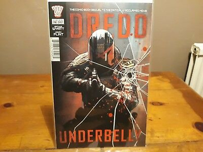 Judge Dredd Underbelly 1st Print