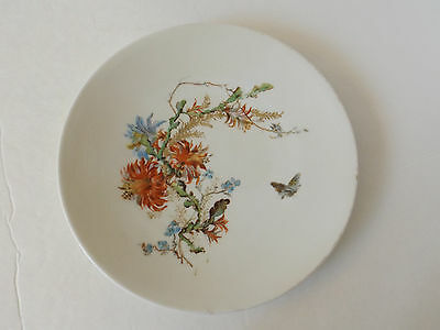 Fischer & Mieg Flowered Plate 101315