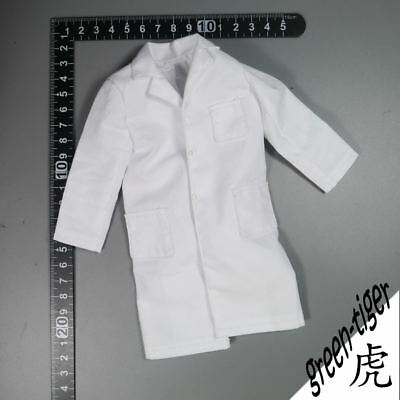 A339 1:6 Scale ace  action figure parts White Lab coat Free shipping