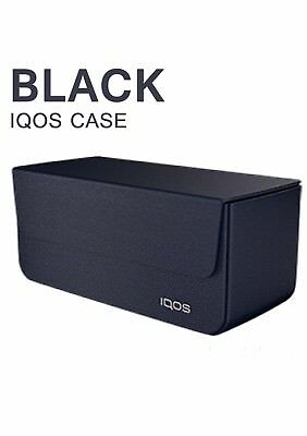 Iqos Leather Case |Black| For Iqos And Heatsticks (Limited Edition)