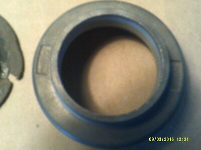1957 Triumph TR3 ....Misc Part with rubber grommit ,part number 107682 free ship