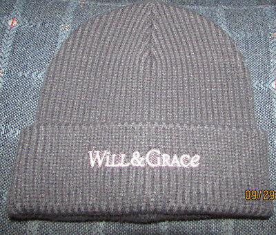 Will & and Grace RARE Promotional/Promo 2017 Beanie Hat from premier party