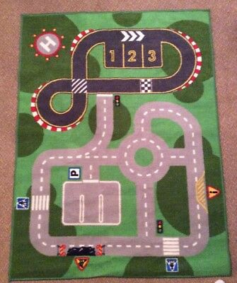Ikea Car Track Road Children's Bedroom Rug Mat