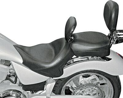 Mustang Wide Touring Seat with Driver Backrest Vintage 79381