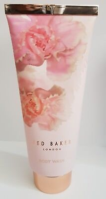 Ted Baker Pink Scented Body Wash 200ml Perfumed Shower Gel Cleanser