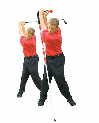 Golf Tour Stretching Pole Exercise Stick Swing Speed