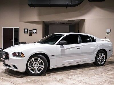 2011 Dodge Charger R/T Road and Track Sedan 4-Door 2011 Dodge Charger R/T Max Police AWD Sedan White Loaded with Police Equipment