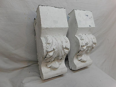 Set of Victorian Style Tin Cornice Corbels - C. 1885 Architectectural Salvage