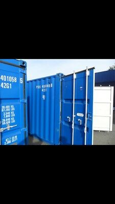 Self Storage shipping containers