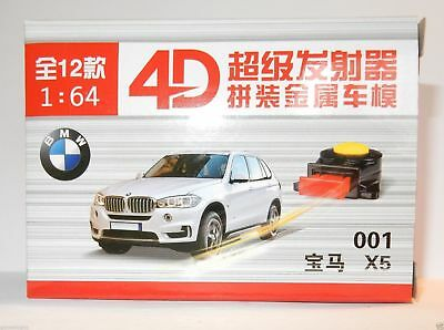 MODEL CAR 4D 3 INCHES 1/64 KIT METAL MAQUETTE DIE CAST + SHOOTER 001 à 012 NEUF