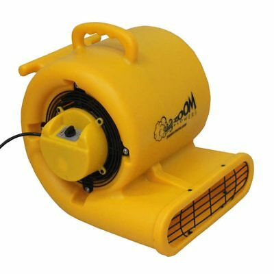 Zoom Dryer Air Mover 1/3 Hp Commercial Indoor Outdoor Floor Centrifugal Blower