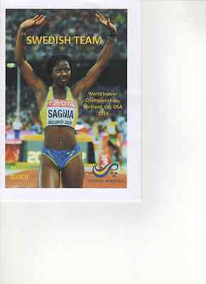 2016 Sweden World Indoor Athletics Championships Team Media Guide: Athletics