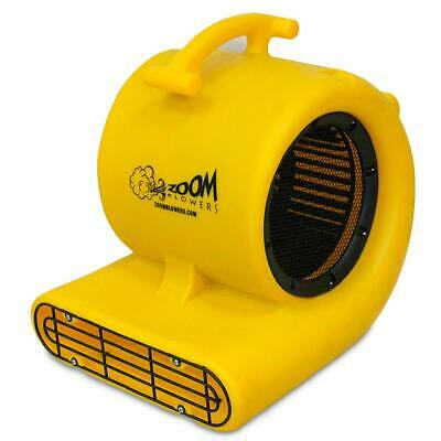 Zoom Air Movers Commercial Indoor Outdoor Floor Dryer 1/2 Hp Centrifugal Blower