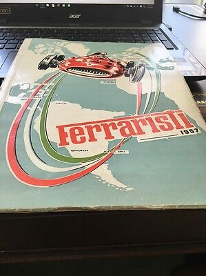 Ferrari Yearbook Type Book 1957