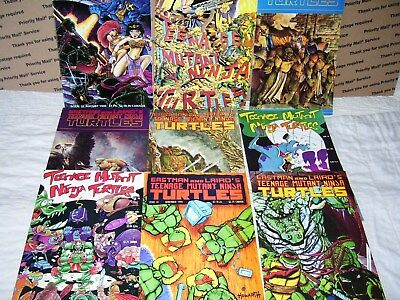 Eastman And Laird's TMNT Lot (9)~Mirage~(1990-1992) 32,34-38,40,41,45~VF~Volume1