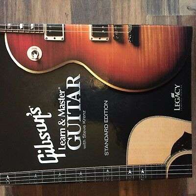 gibson learn and master guitar standard edition