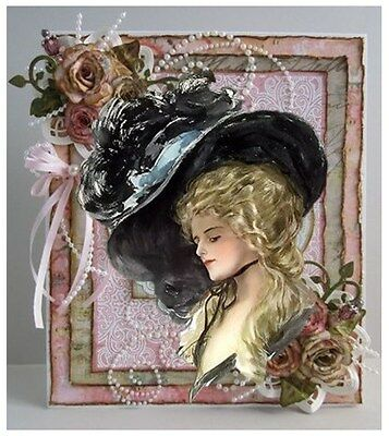 30 Personalized Address Labels Victorian Ladies Buy 3 get 1 free (vla1)