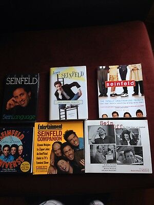 Seinfeld show books set of 6 very good condition