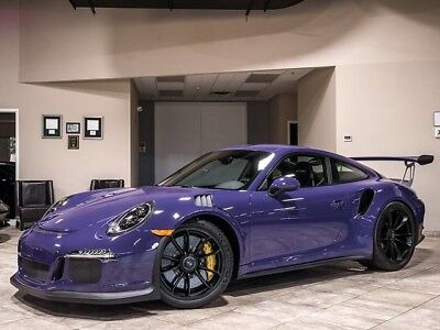 2016 Porsche 911 GT3 RS Coupe 2-Door 2016 Ultraviolet Porsche 911 GT3 RS Coupe 583 Miles Fully Loaded! 1 Owner RARE!