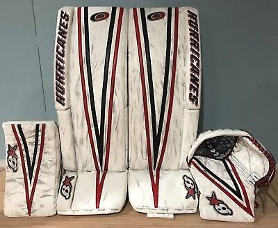 Pro Stock Return Brians Gnetik3 Sub3 Goalie Set Lack Hurricanes