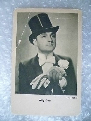 Postcard- WILLY FORST