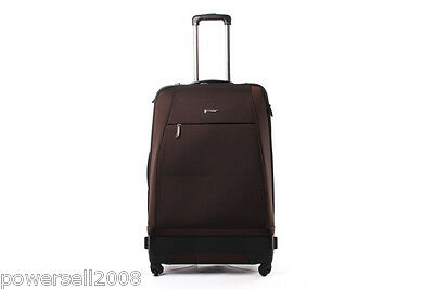 28 Inch Fashion Lovely Practical Traveling Universal wheel Brown Suitcase