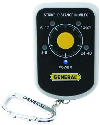 General Tools Personal Lightning Early Storm Warning Detector