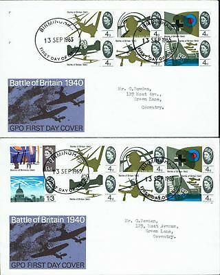 GB, First Day Covers 1965, USED, FDC262