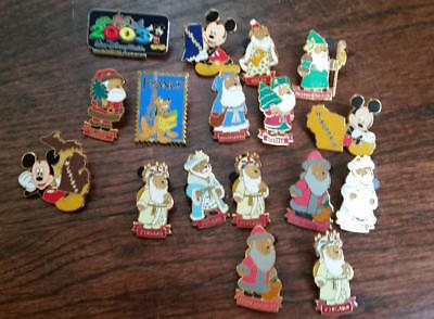 Disney Trading Pins Mixed Lot of 17; Vintage + Cast member exclusives  Lot 26