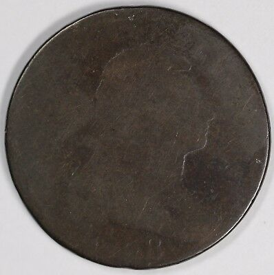 1798 1c Draped Bust Large Cent UNSLABBED