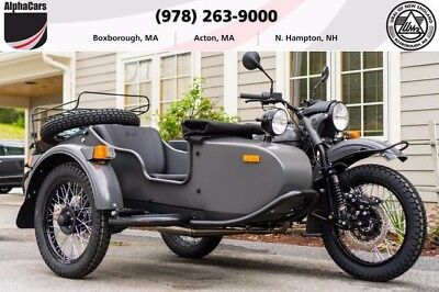 2017 Ural Gear Up 2WD Asphalt Custom  Updated 2017 Model Brembo Brakes Parking Brake No Dealer Fees Financing & Trades