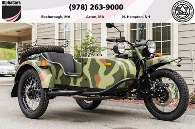 2017 Ural Gear Up 2WD Woodland Camouflage Custom  Updated Model Loaded 2WD Reverse Gear Financing & Trades