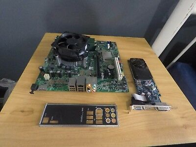 DELL XPS 8000 Motherboard, I7 860 2.8ghz CPU, 6gb DDR3 RAM, GFX Card Combo