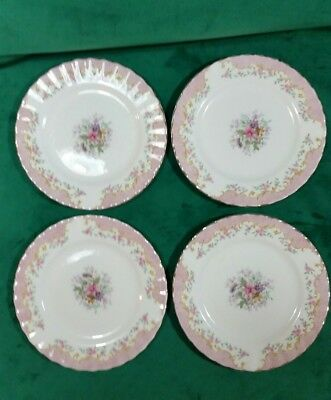 Royal Albert serenity 4 small plates