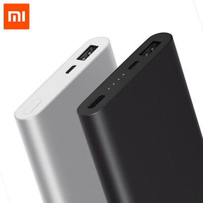 10000mAh Xiaomi Mi Power Bank 2 & Quick Charge External Battery or Android IOS