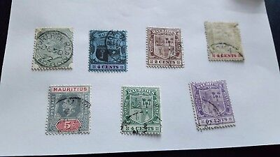 mauritius stamps used on page n379