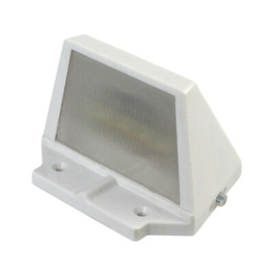 4LED Solar Powered Stairs Fence Garden Security Lamp Outdoor Waterproof Light