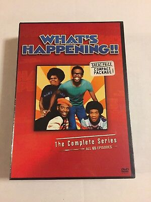 Whats Happening - The Complete Series (DVD, 2008, 9-Disc Set) New Sealed
