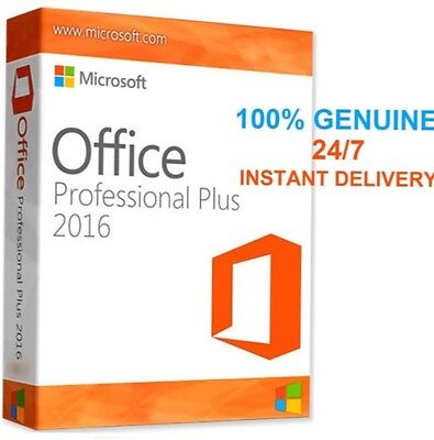 Microsoft Office 2016 Pro. Full ,Word, Excel, PowerPoint, 100% LEGAL, FREE, SELL
