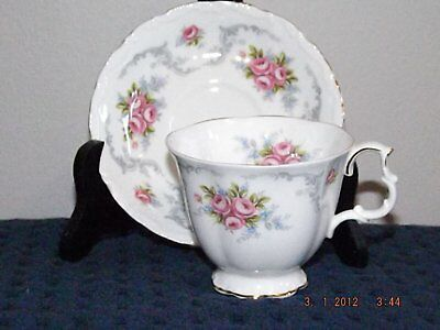Royal Albert Tranquillity Cup & Saucer in Wonderful Condition! Drink Tea!!